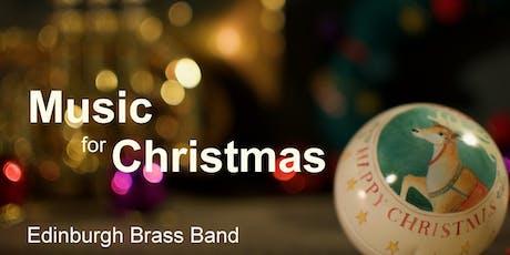 Edinburgh Brass Band - Music for Christmas tickets