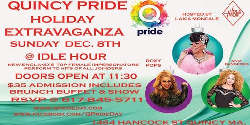 Quincy Pride Presents: Holiday Drag Brunch!