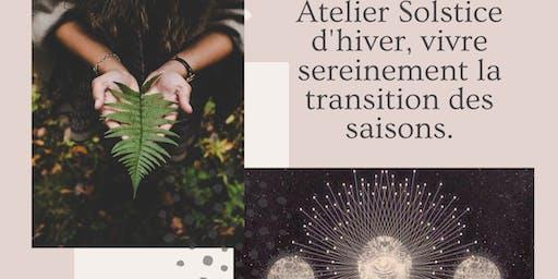 """Atelier """"vivre le solstice d'hiver sereinement avec le yoga et l'ayurvéda """""""