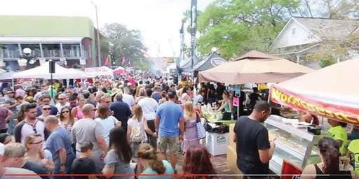 9th Annual Intl Cuban Sandwich Festival: The Big Day - Smackdown Sunday @ Centennial Park in Ybor City - General Admission(Tampa)