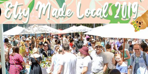 Etsy Made Local Perth 2019 Market