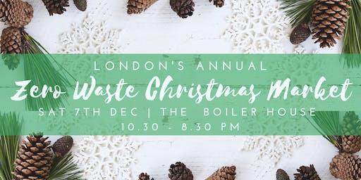 London's Annual Zero Waste Christmas Market
