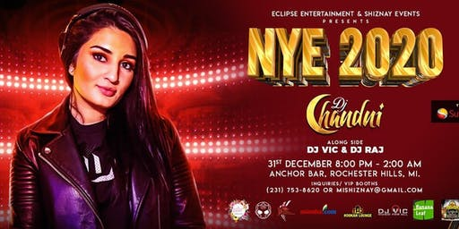 Desi NYE - 2020 with DJ Chandni, DJ Raj and DJ Vic