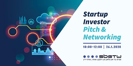 Startup Investors Pitch & Networking tickets