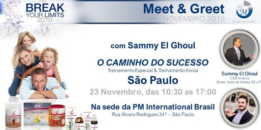 Meet & Greet PM International PM Brasil