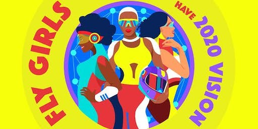 Fly Girls have 2020 Vision - Vision Board Pizza Party