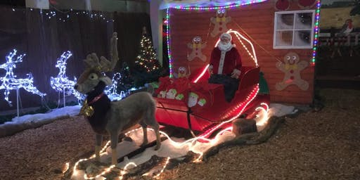 The Scottish Deer Centre, Santa's Grotto Experience 14th 15th 21st 22nd 23rd 24th Dec