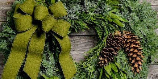 Holiday Wreath Class