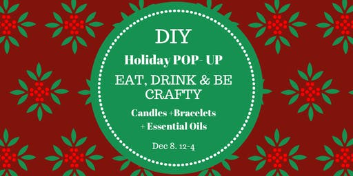 Candle + Bracelet Holiday Pop- Up