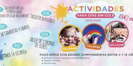 Taller Reposteria Navideña para niños: 7 de Enero 2020 Las Tablas entradas