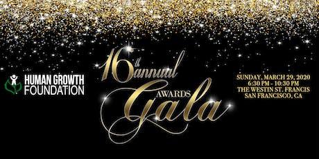 Human Growth Foundation 16th Annual Awards Gala tickets