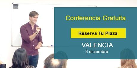 Conferencia GRATIS Valencia: Si supieras que no vas a fracasar,¿qué harías? entradas