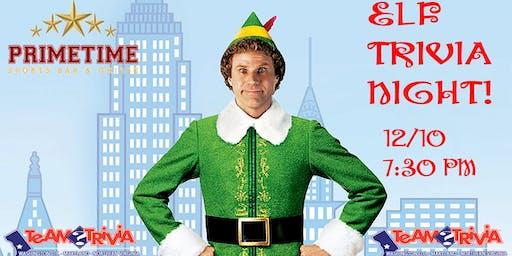 Elf movie trivia night