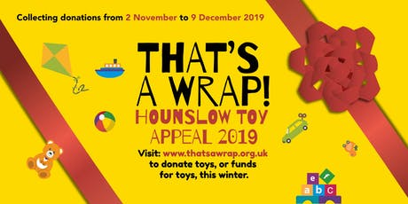 `The Big Community Toy Wrap 2019 tickets