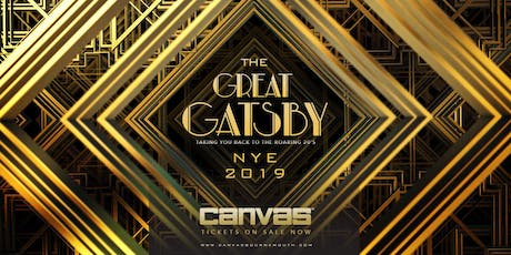 Canvas Presents The Great Gatsby NYE tickets