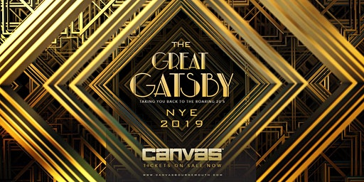 Canvas Presents The Great Gatsby NYE