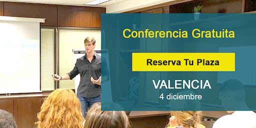 Conferencia GRATIS Valencia: Si supieras que no vas a fracasar,¿qué harías?