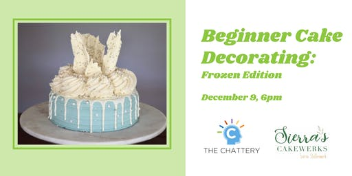 Beginner Cake Decorating: Frozen Edition