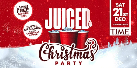 Juiced Christmas Party tickets