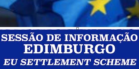Sessão BREXIT Edimburgo entradas