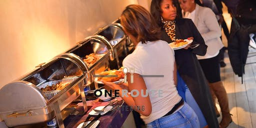Brunch & day Party At 1942 By @OneRouteCatering Sponsored by Martell Cognac