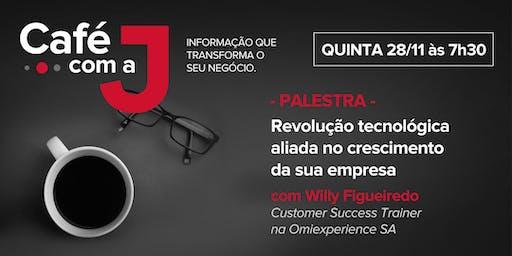 """PALESTRA: """"Revolução tecnológica aliada ao crescimento da sua empresa"""""""