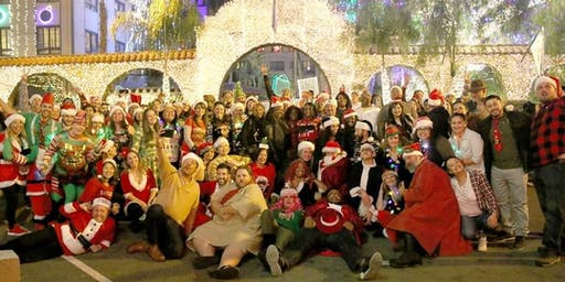 4th annual Donwtown Riverside Santa Pub Crawl