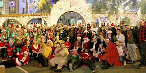 4th annual Donwtown Riverside Santa Pub Crawl