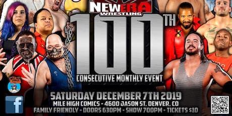 New Era Wrestling 100 tickets