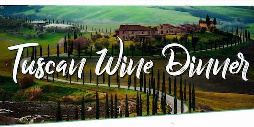Tuscan Wine Dinner