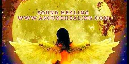 Sound Healing Full Moon Chakra Clearing