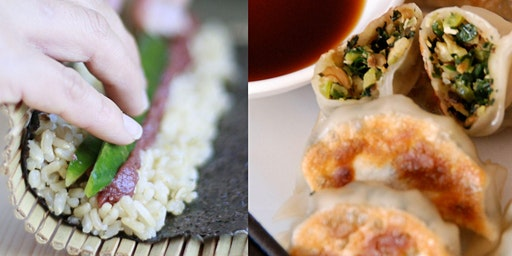 JAPANESE FAVOURITES (INTENSIVE) - GYOZA + SUSHI COOKING CLASS