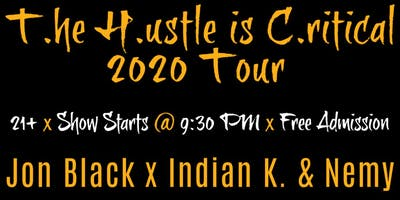 Jon Black T.H.C. Tour 2020 @ The Go Lounge (Hip-Hop)