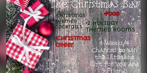 Christmas Themed Pop up Bar