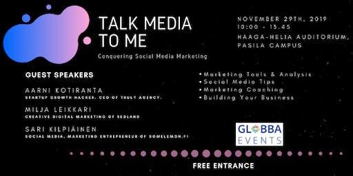 Talk Media To Me