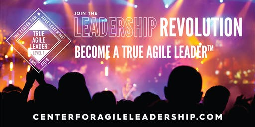Becoming A True Agile Leader(TM) - First Steps, May 13, Atlanta