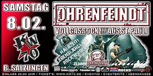 OHRENFEINDT - Bad Salzungen / HALBZEIT! LEBENSLÄNGLICH ROCK'N'ROLL! 2020