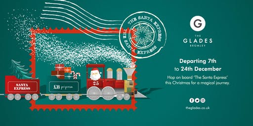 'The Santa Express' at The Glades, Bromley