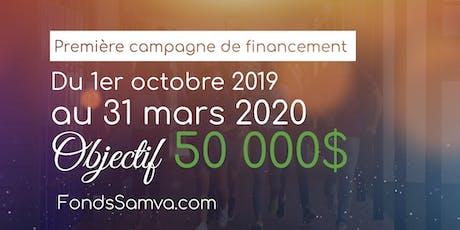 Lancement de la campagne de financement du Fonds SAMVA tickets