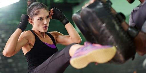 Women's Kickboxing Class $10