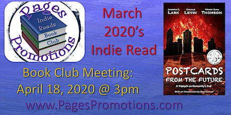 Indie Reads Book Club March 2020 - Postcards From The Future! tickets
