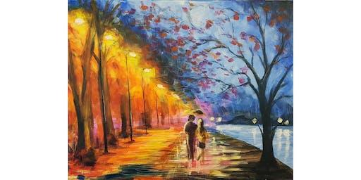 Paint & Sip Night (An Evening Romance)