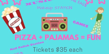 Pizza and PaJAMas tickets