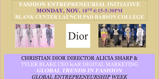 Global Fashion Trends by FEI at Babson