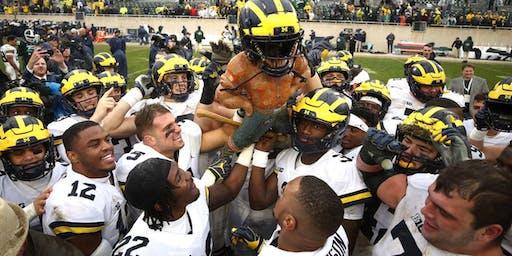 Michigan vs Michigan State Football Watch Party