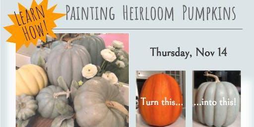 Laura Fleming Interiors: How to Paint Heirloom Pumpkins Nov 14 2019