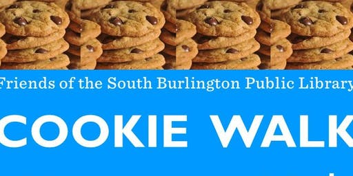 S. Burlington Library COOKIE WALK!!!