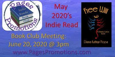 Indie Reads Book Club May 2020 - Free Will!