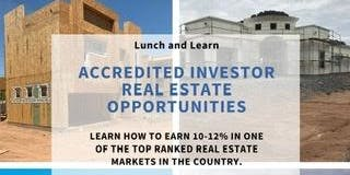 Lunch and Learn Accredited  Investors Only