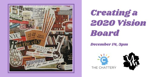 Creating a 2020 Vision Board